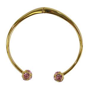 Kate Spade Lady Marmalade Jeweled Stud Cuff Gold